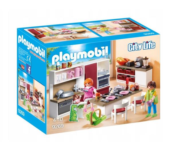 PLAYMOBIL Duża rodzinna kuchnia - 440740 - zdjęcie