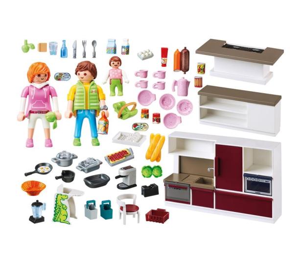 PLAYMOBIL Duża rodzinna kuchnia - 440740 - zdjęcie 3