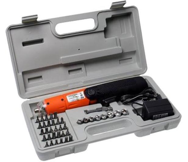 InLine Śrubokręt (akumulator); 42-częściowy zestaw - 437329 - zdjęcie
