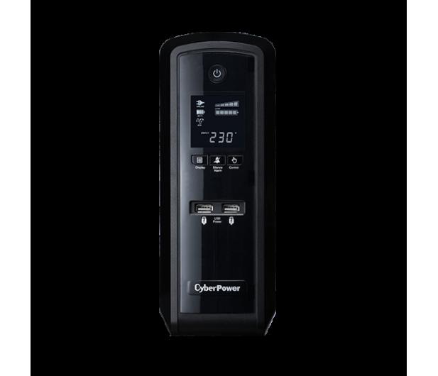 CyberPower UPS CP1500EPFCLCD (1500VA/900W, 6xSchuko, AVR) - 440786 - zdjęcie
