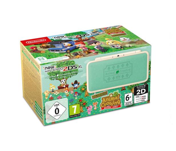 Nintendo NEW NINTENDO 2DS XL ANIMAL CROSSING EDITION - 440269 - zdjęcie