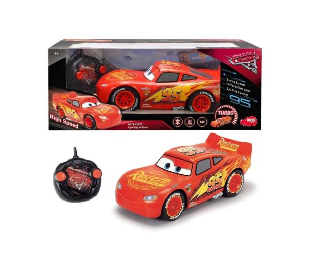 Dickie Toys Disney Cars 3 Hero Zygzak McQueen RC  - 444766 - zdjęcie 3