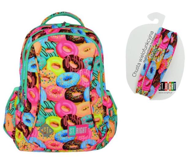Majewski ST.Right Plecak szkolny Donuts BP-26  - 442056 - zdjęcie