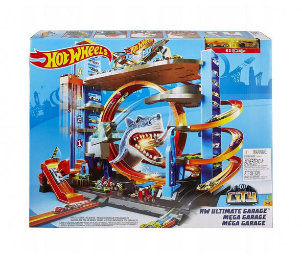 Hot Wheels City Mega Garaż Rekina - 446187 - zdjęcie 2