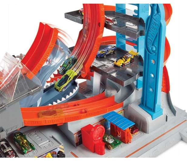 Hot Wheels City Mega Garaż Rekina - 446187 - zdjęcie 3