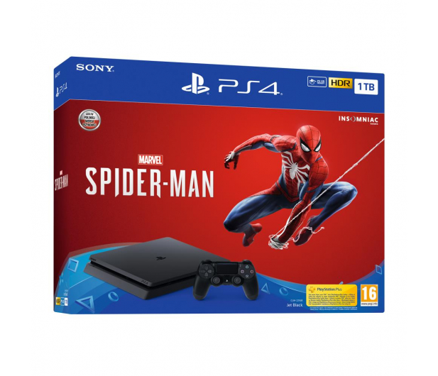Sony Playstation 4 Slim 1TB + Spider-Man - 436874 - zdjęcie