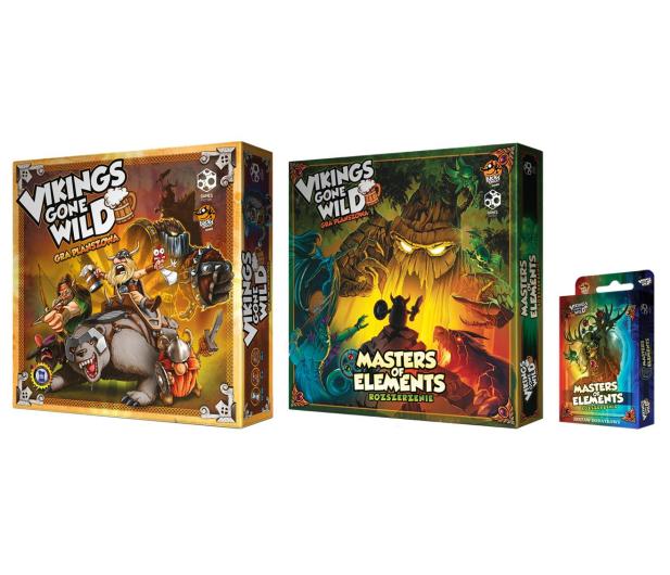 Games Factory Vikings gone Wild - zestaw podstawka + dodatki - 446243 - zdjęcie 2