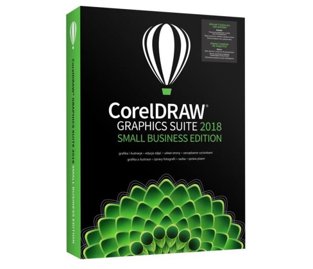Corel CorelDRAW Graphics Suite 2018 Small Business 3st - 444781 - zdjęcie