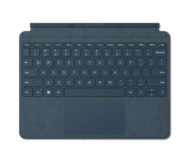 Microsoft Signature Type Cover do Surface Go Kobaltowy - 440096 - zdjęcie
