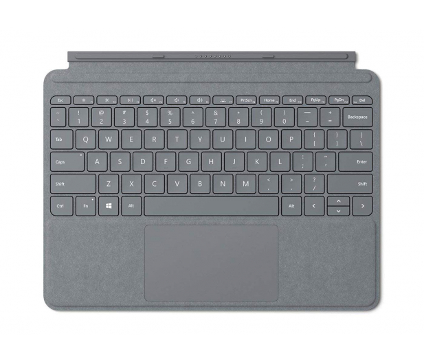 Microsoft Signature Type Cover do Surface Go Platynowy - 440095 - zdjęcie