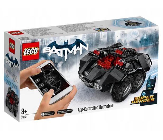 LEGO Super Heroes Zdalnie sterowany Batmobil - 442593 - zdjęcie