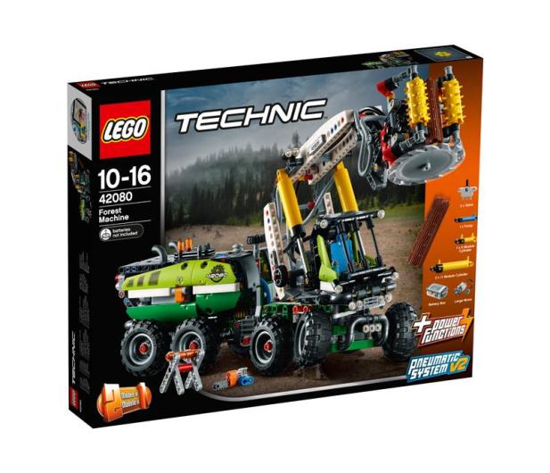 LEGO Technic Maszyna leśna - 442566 - zdjęcie