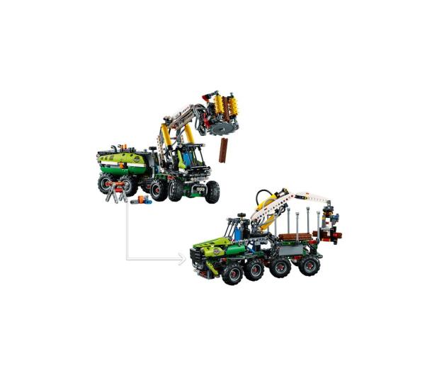 LEGO Technic Maszyna leśna - 442566 - zdjęcie 3