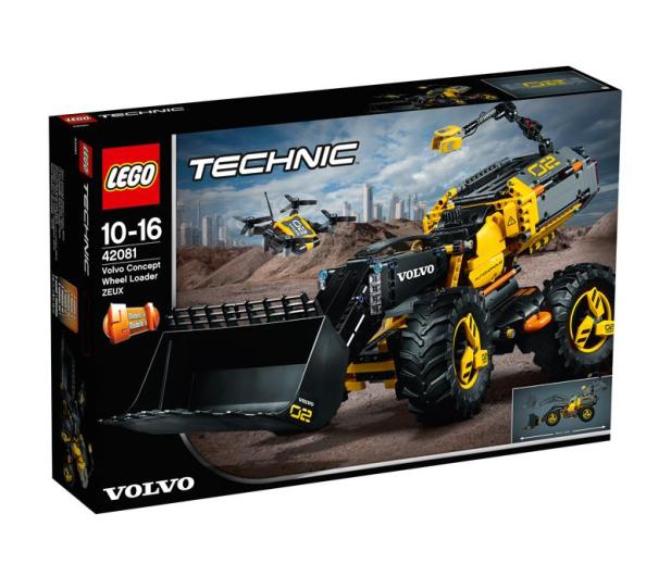 LEGO Technic Volvo ładowarka kołowa ZEUX V29 - 442564 - zdjęcie