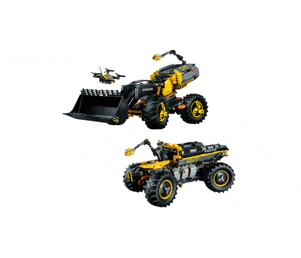 LEGO Technic Volvo ładowarka kołowa ZEUX V29 - 442564 - zdjęcie 3
