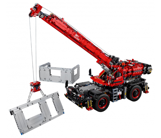 LEGO Technic Dźwig - 442567 - zdjęcie 2