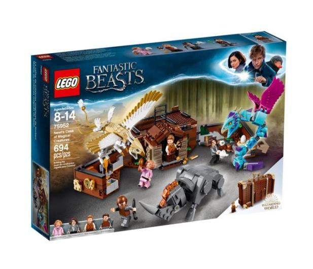 LEGO Harry Potter Walizka Newta z magicznymi stworze - 442594 - zdjęcie
