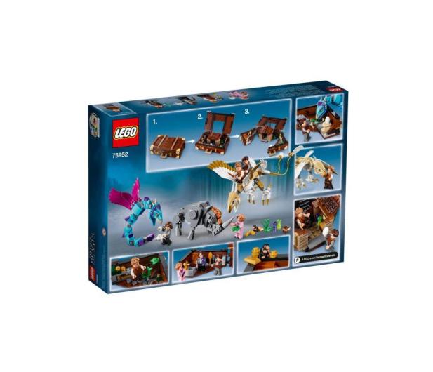 LEGO Harry Potter Walizka Newta z magicznymi stworze - 442594 - zdjęcie 3