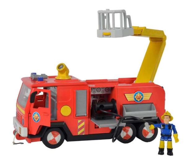 Simba Strażak Sam Wóz strażacki Jupiter 2.0 - 442382 - zdjęcie 2