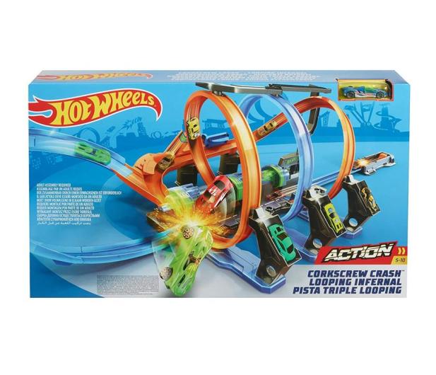 Hot Wheels Pętle Grozy - 442751 - zdjęcie 2