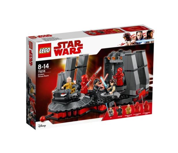 LEGO Star Wars Sala Tronowa Snoke'a - 442581 - zdjęcie