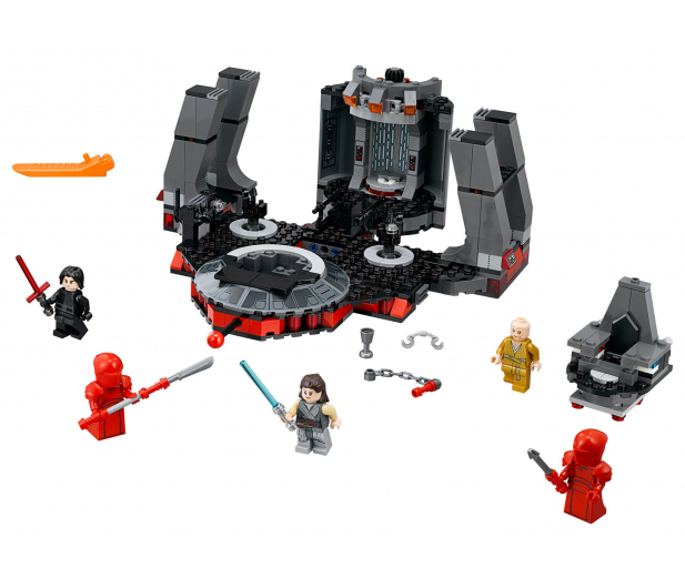 LEGO Star Wars Sala Tronowa Snoke'a - 442581 - zdjęcie 2