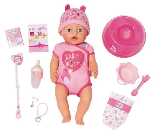 Zapf Creation Baby Born lalka interaktywna Nowa - 442796 - zdjęcie