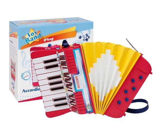 Bontempi Akordeon 17 klawiszy, 6 przycisków basowych - 443131 - zdjęcie
