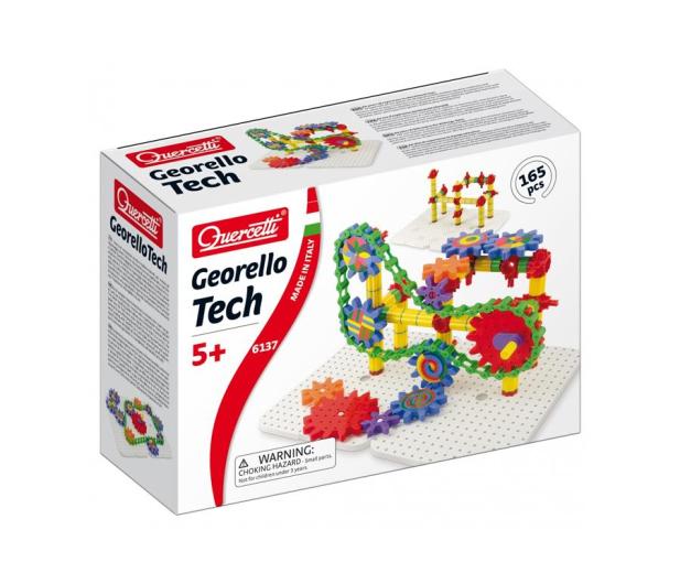 Quercetti Zestaw Konstrukcyjny Georello Tech 165 El. - 471367 - zdjęcie