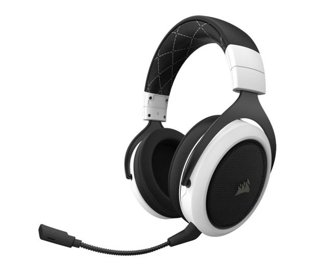 Corsair HS70 Gaming Wireless (biały)  - 441905 - zdjęcie