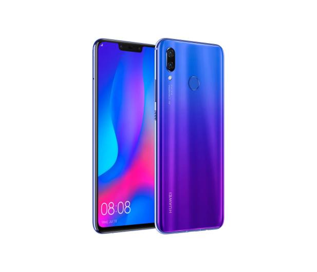 Huawei Nova 3 Dual SIM Purpurowy - 441913 - zdjęcie 4