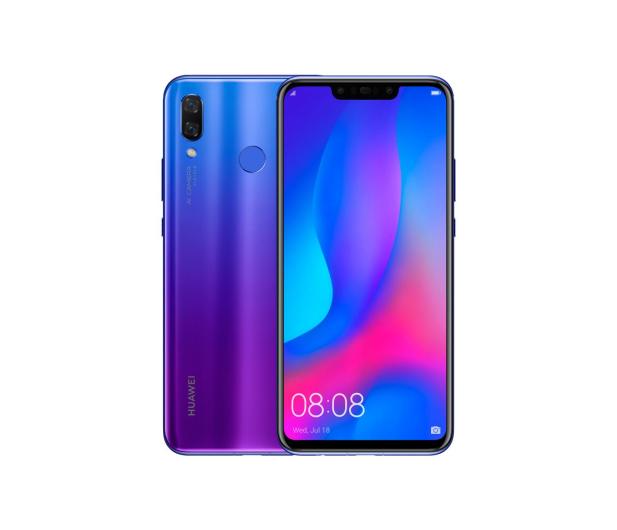 Huawei Nova 3 Dual SIM Purpurowy - 441913 - zdjęcie