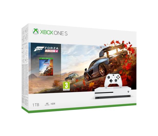 Microsoft Xbox One S 1TB + Forza Horizon 4 - 449057 - zdjęcie