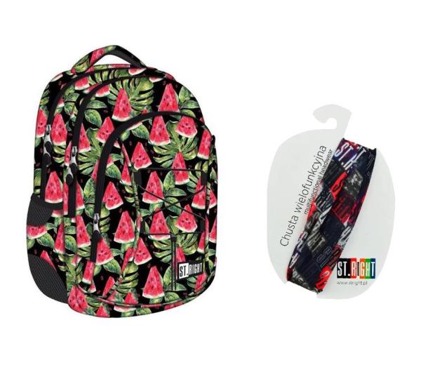 Majewski ST.Right Plecak szkolny Watermelon BP-32 - 412654 - zdjęcie