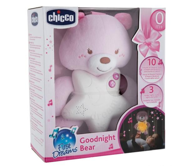 Chicco Miś Na Dobranoc Różowy - 449814 - zdjęcie 2