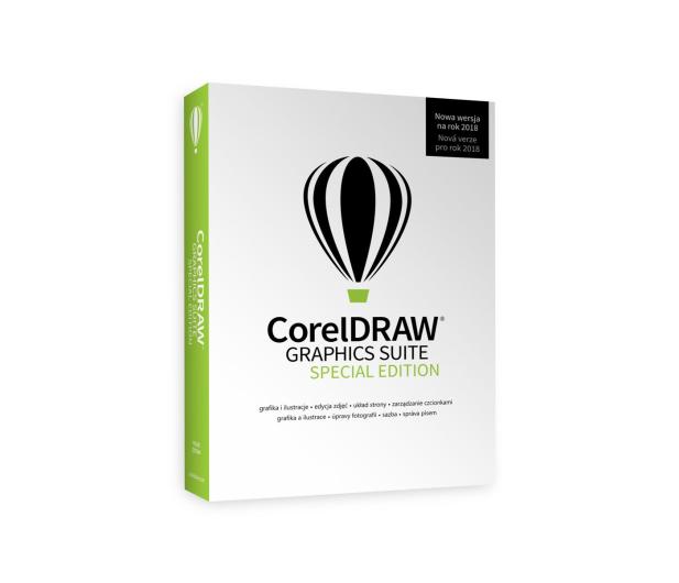 Corel CorelDRAW Graphics Suite Special Edition PL BOX - 450269 - zdjęcie