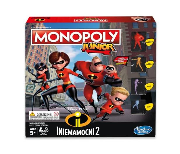 Hasbro Monopoly Junior Iniemamocni 2 - 450900 - zdjęcie