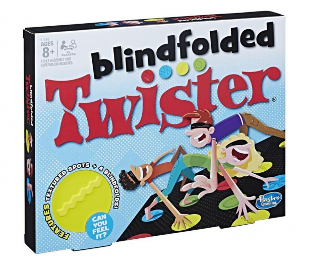 Hasbro Twister Blindfolded  - 450878 - zdjęcie