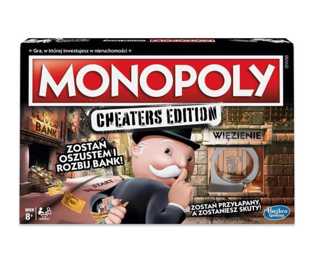 Hasbro Monopoly Cheaters Edition - 450895 - zdjęcie 2