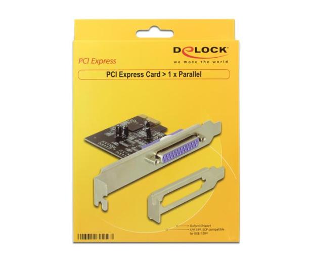 Delock Karta PCI Express->LPT(DB25) - 447650 - zdjęcie 3