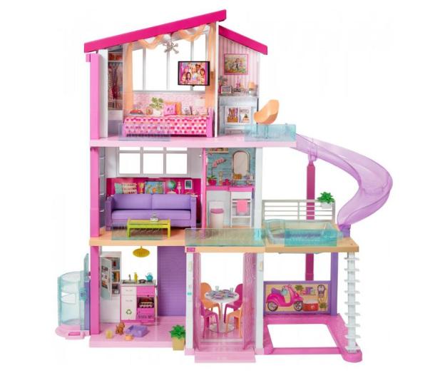 Barbie Idealny Domek dla lalek światła i dźwięki - 451652 - zdjęcie 1