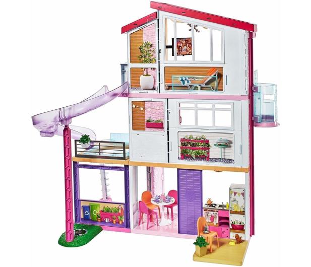Barbie Idealny Domek dla lalek światła i dźwięki - 451652 - zdjęcie 2