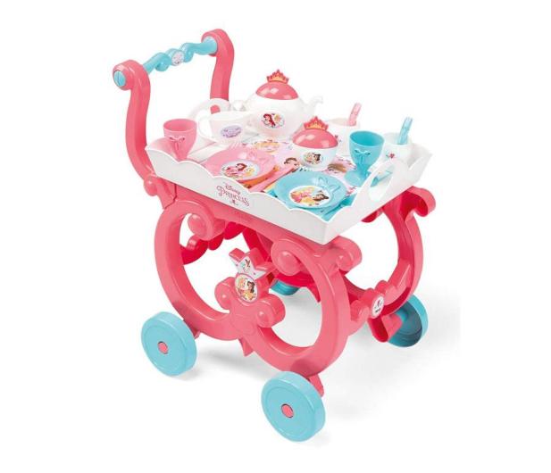 Smoby Disney Princess Wózek Księżniczki z zastawą - 451719 - zdjęcie