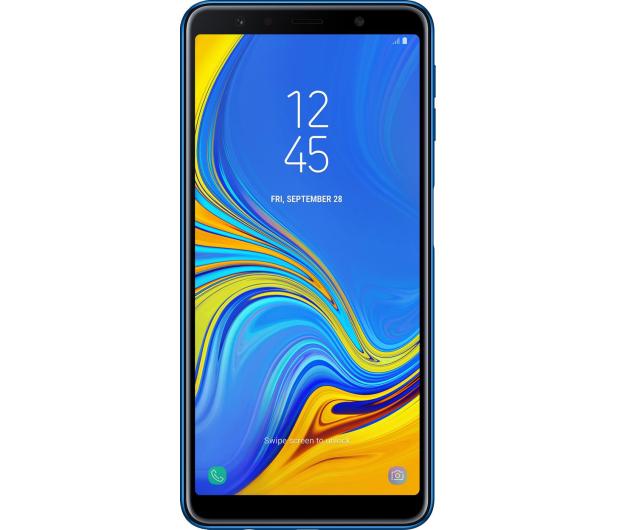 Samsung Galaxy A7 A750F 2018 4/64GB LTE FHD+ Niebieski  - 451430 - zdjęcie 3