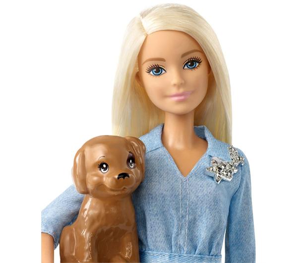 Barbie Zestaw Lalka i Ken z pieskiem - 452173 - zdjęcie 3