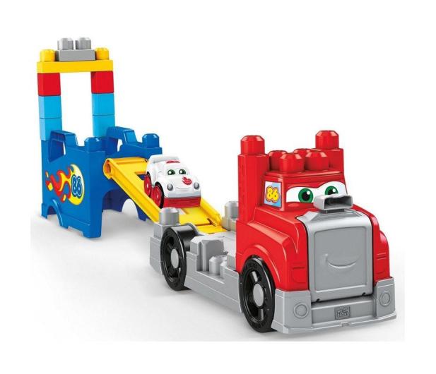 Mega Bloks Ciężarówka Buduj i ścigaj się - 452174 - zdjęcie 3