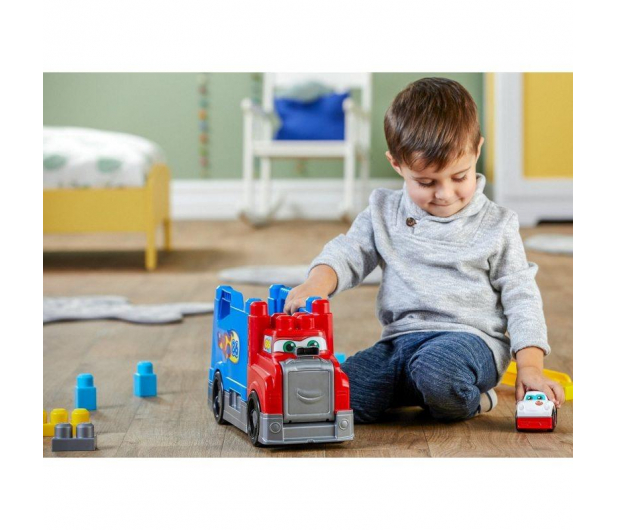 Mega Bloks Ciężarówka Buduj i ścigaj się - 452174 - zdjęcie 5