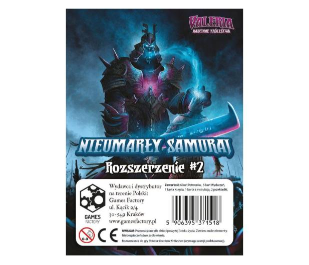 Games Factory Valeria Karciane Królestwa Nieumarły Samuraj - 452511 - zdjęcie 2