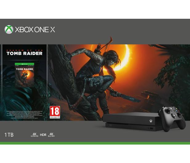 Microsoft Xbox One X 1TB  SOTTR+GoW4+Fifa19+EA Access  - 447457 - zdjęcie 5