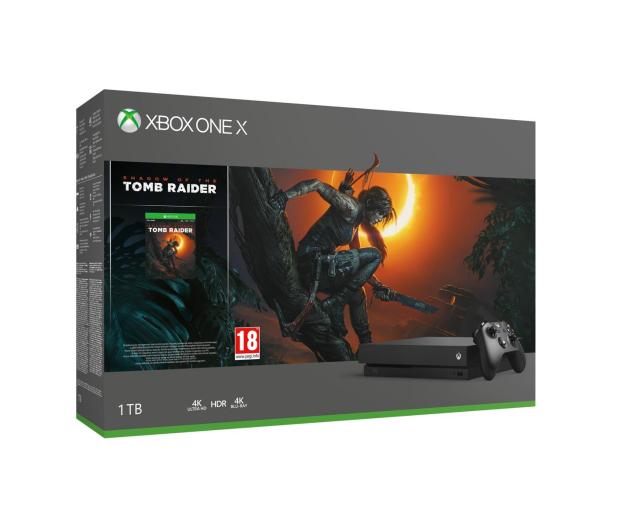 Microsoft Xbox One X 1TB  SOTTR+GoW4+Fifa19+EA Access  - 447457 - zdjęcie 2